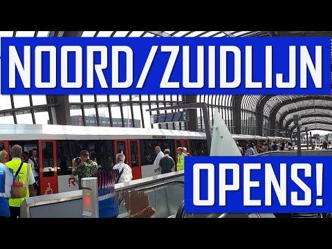 After 15 Years! Amsterdam Metro Noord/Zuidlijn Opens! photo