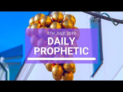 Daily Prophetic 8 July 2019 Word 3
