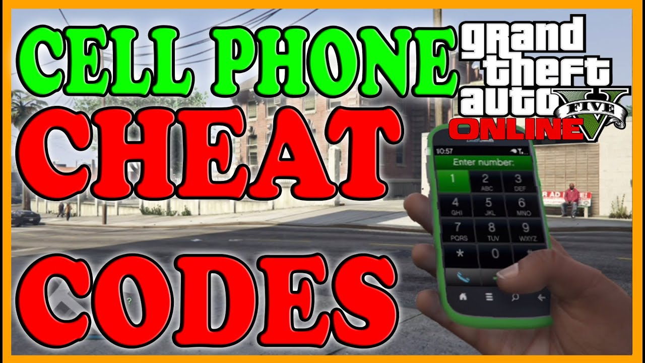 gta 5 cell phone cheats