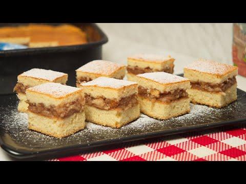 Starinski kolač sa jabukama - jeftino - mera na kašiku