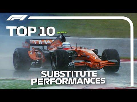 Top 10 Substitute Performances in F1