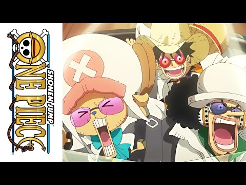 One Piece Film: Gold - Official Clip - Race for the Gold
