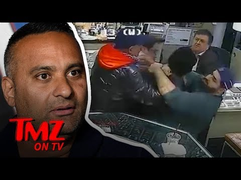 Comedian Helps Stop Attempted Jewlery Robing | TMZ TV