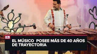 Mario Nandayapa y la música con marimba