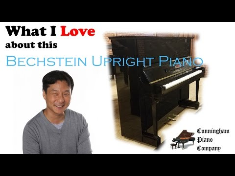 What I Love About This Bechstein Upright Piano