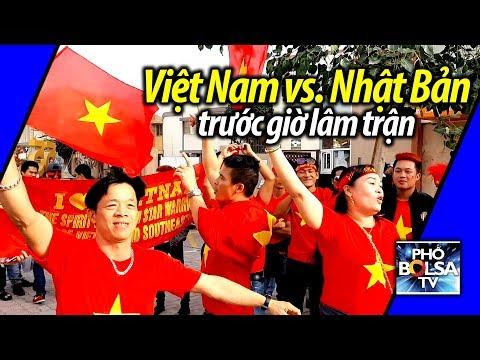 ASIAN CUP 2019: CĐV Việt Nam hát Nối Vòng Tay Lớn trước trận VN-Nhật