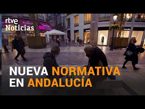 CERRADO el COMERCIO y la HOSTELERÍA en ANDALUCÍA I RTVE