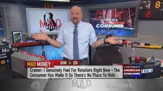 A generational shift in consumer tastes is a boon for these retailers, Jim Cramer says
