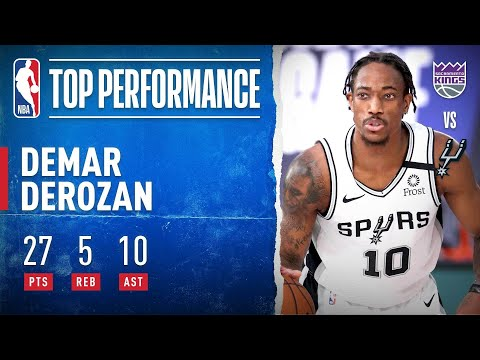 DeMar DeRozan GOES OFF For 27 PTS (10-13 FGM) & 10 AST!