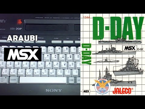 D-Day (Jaleco, 1984) MSX [312] Walkthrough