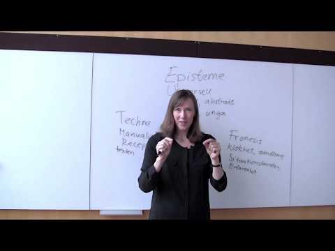 Decode: Jonna Bornemark berättar om Aristoteles kunskapsbegrepp