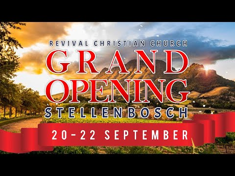 ITS HERE!!! THE OPENING OF STELLENBOSCH!!!