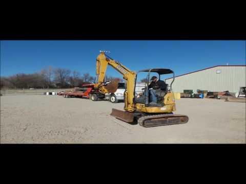 2005 John Deere 27C ZTS compact excavator for sale | no-reserve Internet auction February 16, 2017
