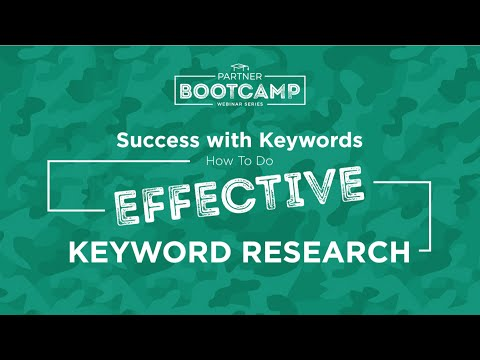 Success with Keywords: How to Do Effective Keyword Research