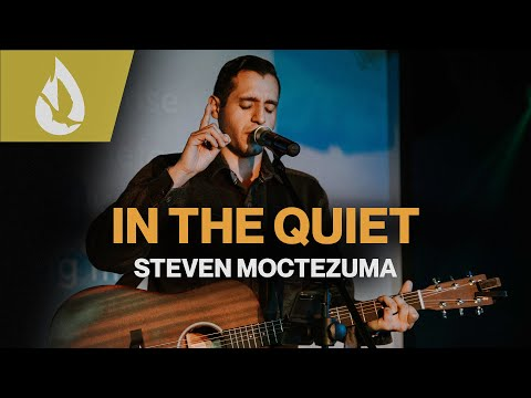 In the Quiet (by Will Reagan) with Lyrics  Acoustic Worship Cover by Steven Moctezuma