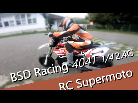 BSD Racing 404T 1/4 2,4 Ghz ferngesteuertes RC Motorrad als Supermoto von Banggood - UCNWVhopT5VjgRdDspxW2IYQ