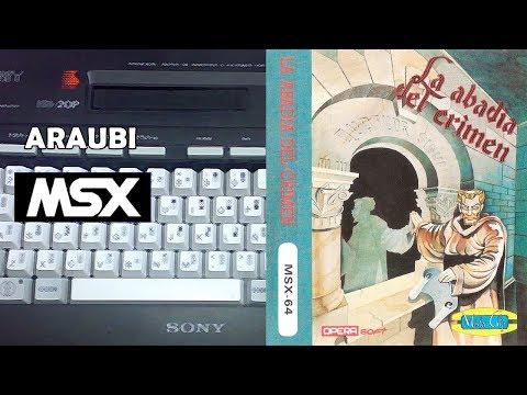 La Abadia del Crimen (Opera Soft, 1987) MSX [001] El Kiosko