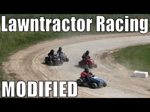 Modified Class Lawntractor Racing At Western Ontario Outlaws July 7 2019 - MAINS