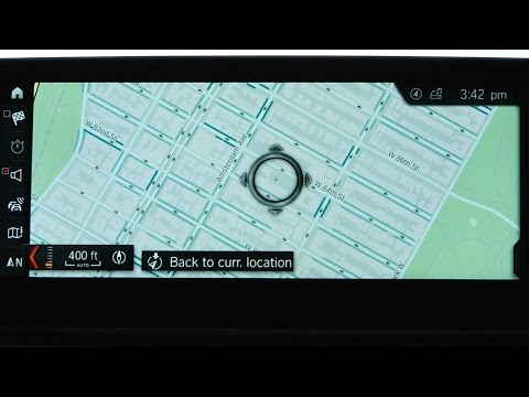 How To Use iDrive To Search For Available On Street Parking
