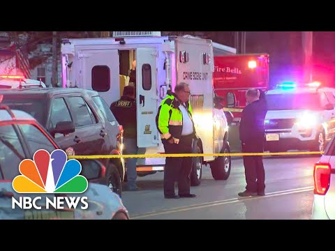 Police Investigate Kenosha Bar Shooting That Left Three Dead, Two Injured | Meet The Press| NBC News