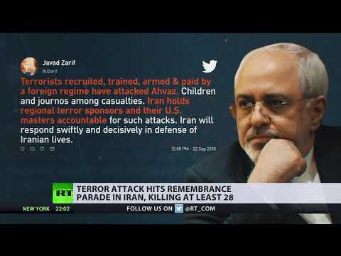 Iran summons UK, Netherlands & Denmark envoys after military parade attack leaves 28 dead