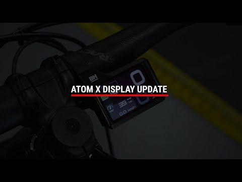 ATOMX| HOW TO UPDATE ATOMX DISPLAY
