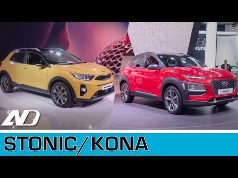 Kia Stonic y Hyundai Kona - Frankfurt Auto Show 2017