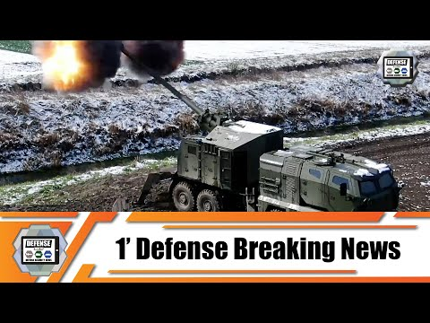 Global Ordnance successfully test fires upgraded Nora B-52 M21 155mm Mobile Howitzer for US Army