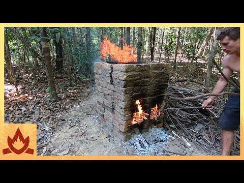 Primitive Technology: Brick Firing Kiln