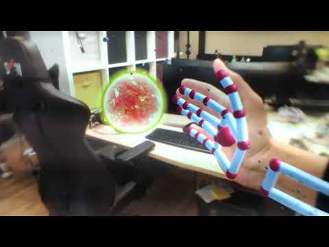 Lynx R1 - Through The Lens Footage - Hand Tracking, ...