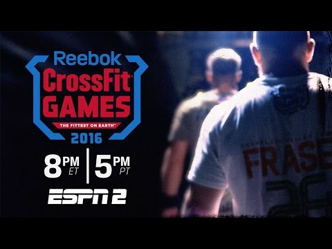 The CrossFit Games on ESPN 2: Sunday 10/9/16