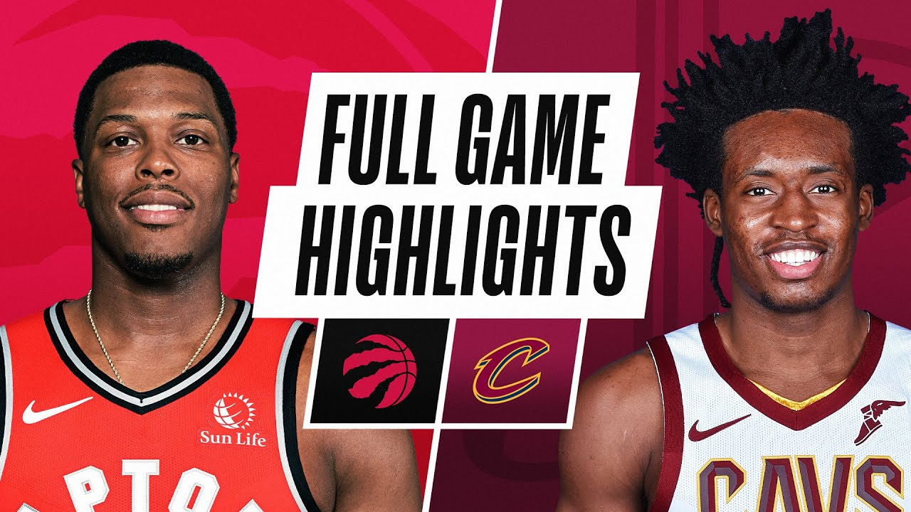RAPTORS at CAVALIERS | FULL GAME HIGHLIGHTS | March 21, 2021