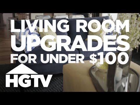 3 Living Room Updates Under $100 - HGTV