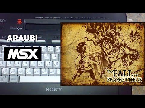 The Fall of Prometheus (Mistery Labs, 2021) MSX [794] Walkthrough