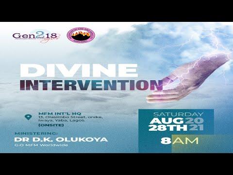 MFM Gen218 Singles - Divine Intervention with Dr D. K.  Olukoya