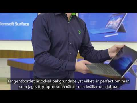 Surface Pro 4 How-To Tangentbord