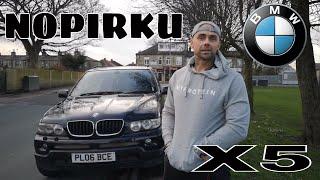 NOPIRKU BMW X5 e53 Anglijā !