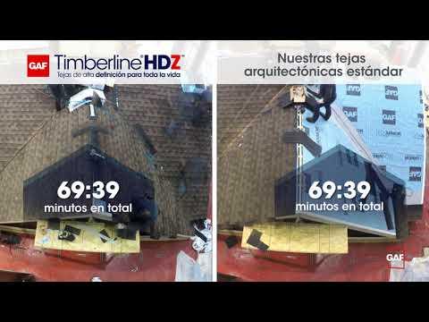 ¿Timberline HDZ es más rápido de instalar?