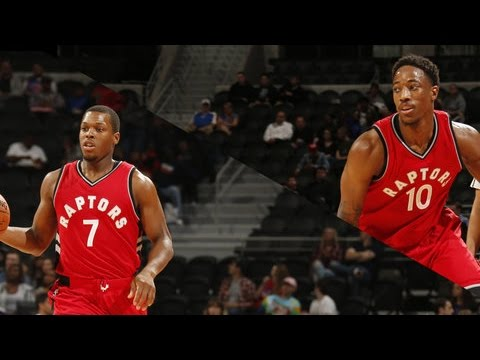 Lowry and DeRozan Combine for 53 Points in Detroit