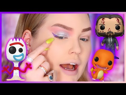 "TRYING TOY MAKEUP""! WTF! 