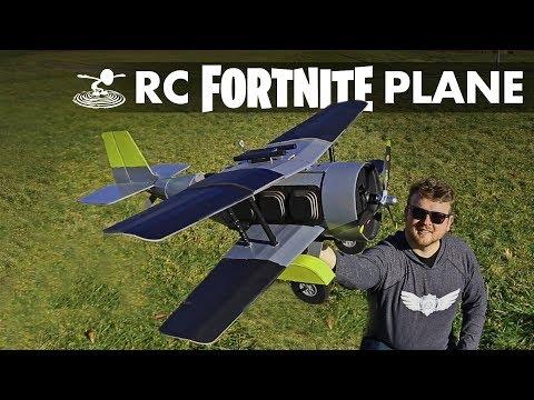 Homemade Fortnite Plane - Will it Fly? | RC X-4 Stormwing - UC9zTuyWffK9ckEz1216noAw