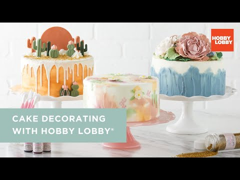 Cake Decorating with Hobby Lobby®