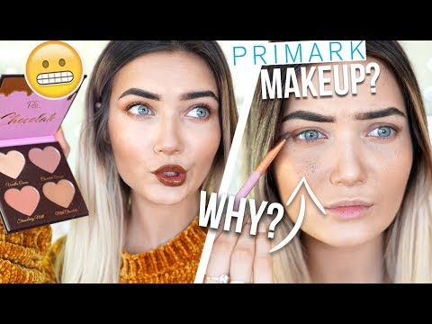 TESTING NEW PRIMARK MAKEUP! TOO FACED DUPES? HIT OR MISS? - UCBKFH7bU2ebvO68FtuGjyyw