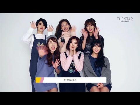 더스타(THE STAR) 3월호 레인보우(rainbow) 화보 촬영 현장 공개