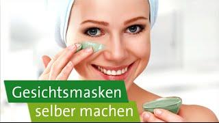 Diy Gesichtsmasken Selber Machen Für Normale Fettige Trockene