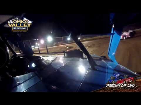 #00 Cruz Vandall - Ohio Valley Speedway 4-23-21 - Open Modified - In-Car Camera - dirt track racing video image