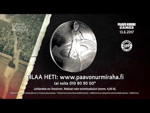 Paavo Nurmi 120 vuotta -kampanjan TV-mainos