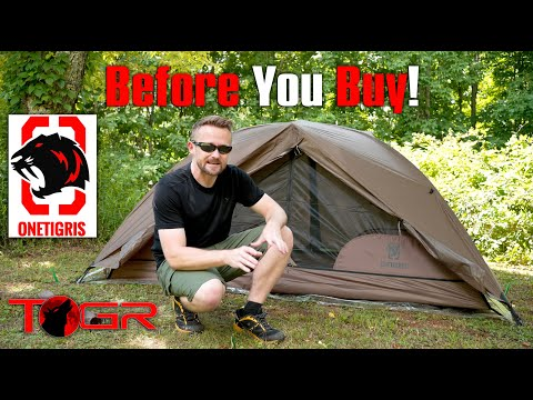 OneTigris Cosmitto Backpacking Tent - Before You Buy - Setup and Problems