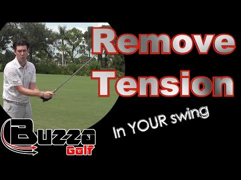 Remove Tension From YOUR Golf Swing
