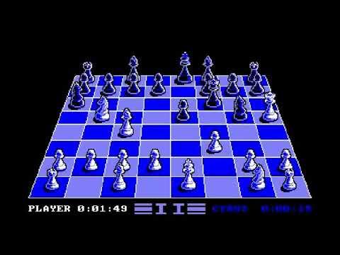Cyrus Chess II - Amstrad CPC Longplay